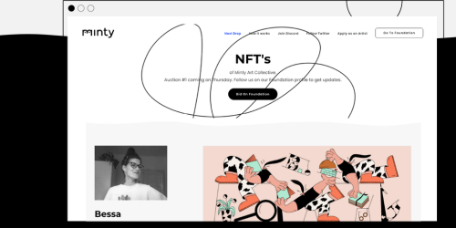 Minty Art Collective - Curated community of NFT artists & designers | Product Hunt