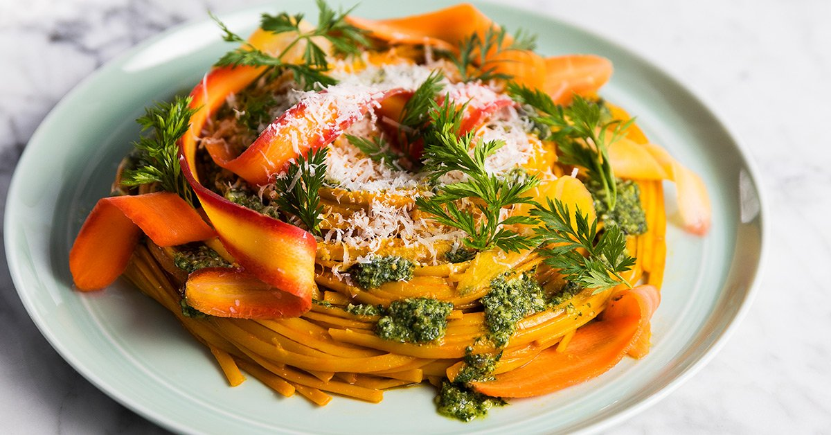 Carrot Linguine Is A Pasta With A Healthy Twist