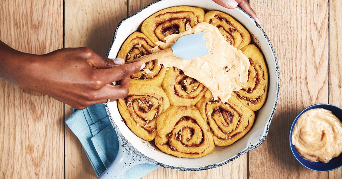These Cinnamon Rolls Will Make Your Mornings A Bit Brighter