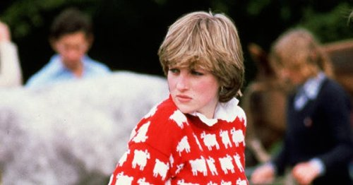 The Iconic Sheep Sweater Worn By Princess Diana Is Now Available in Green