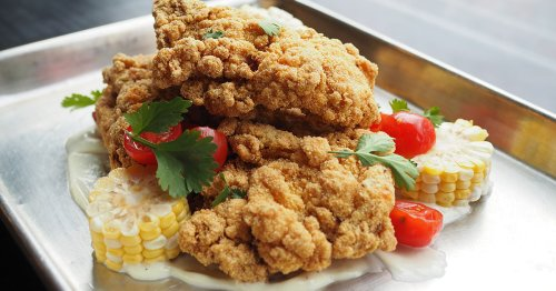 This Fried Chicken Is Sweetly Sour In The Best Way