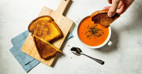 The Classic Tomato Soup And Grilled Cheese Combo You Need