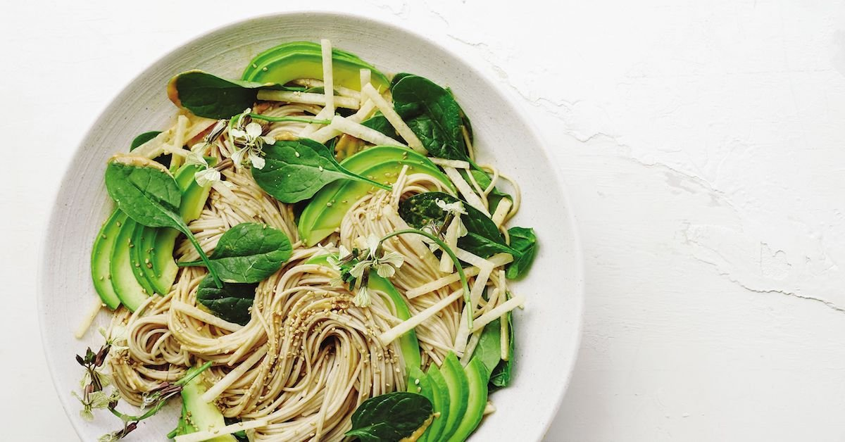 Cold Noodle And Avocado Salad Will Rule Your Summer