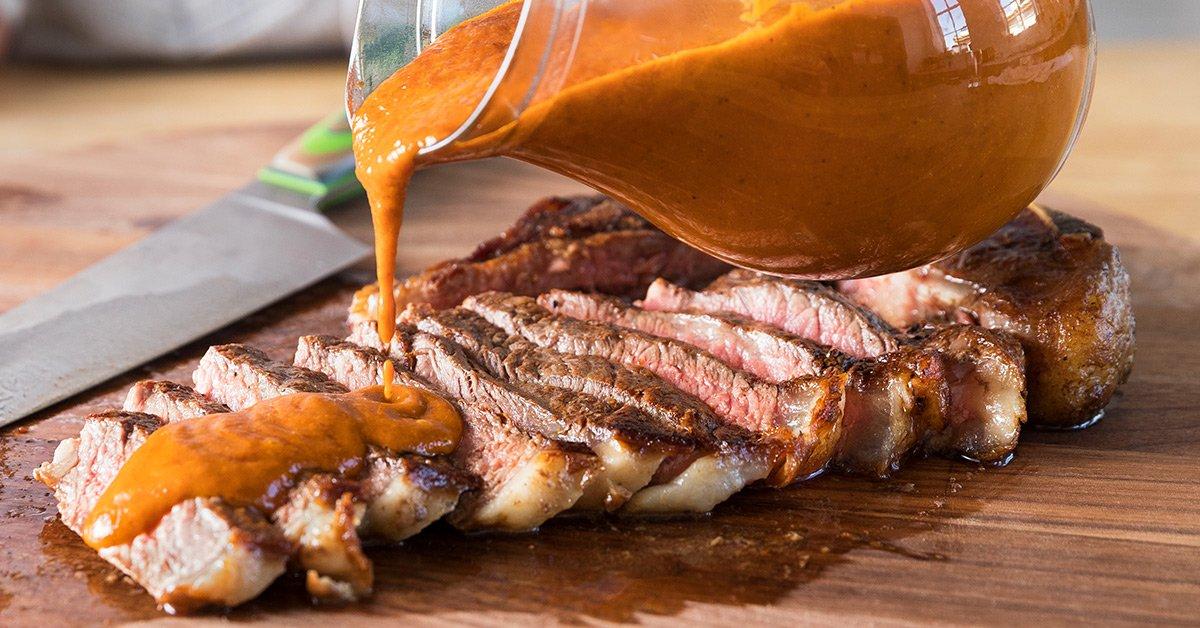 This Burnt Onion Steak Sauce Is Beef's Best Friend