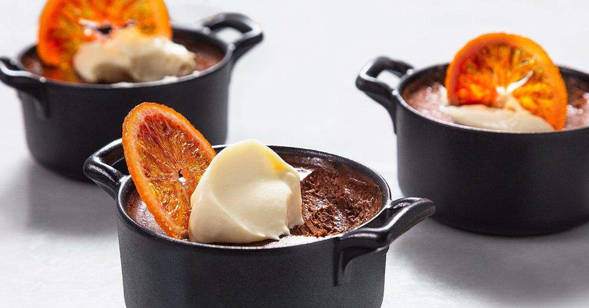 These Blood Orange Pots de Crème Are Deliciously Romantic