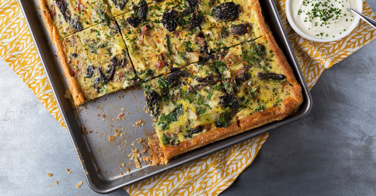 This Sheet Pan Quiche Is The Breakfast Of Dreams