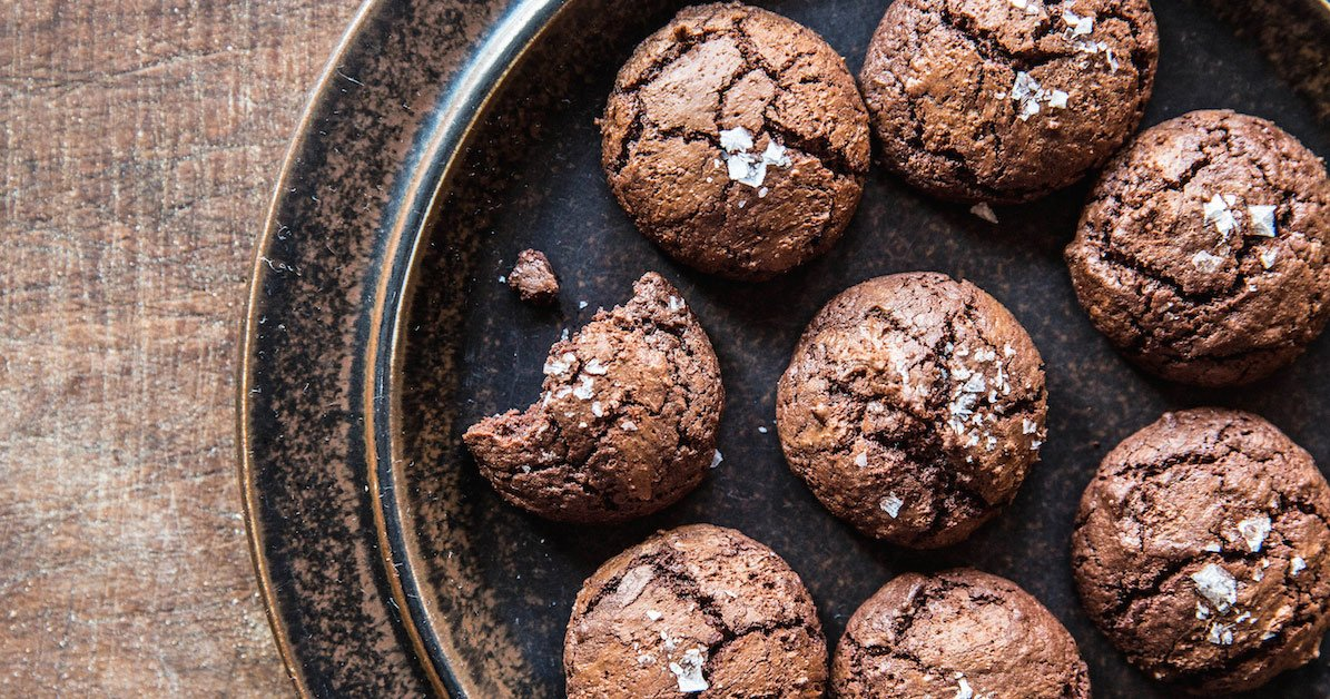 No Need For A Bakery When You Have This Salted Chocolate-Rye Cookie Recipe