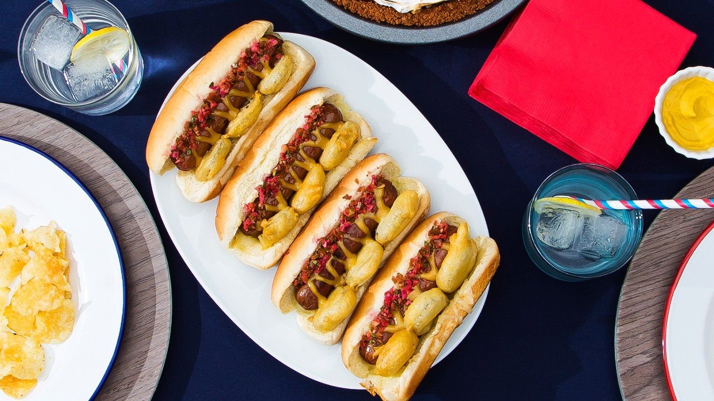 If You're Not Loading Up Your Hot Dogs Like This, You're Wrong