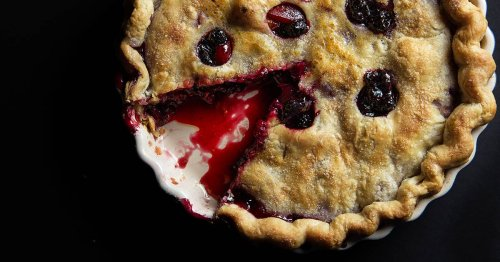 This Summer Berry Pie Has A Delicious Crust Surprise