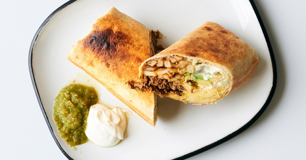 The Unique Breakfast Burrito You Didn't Know You Needed
