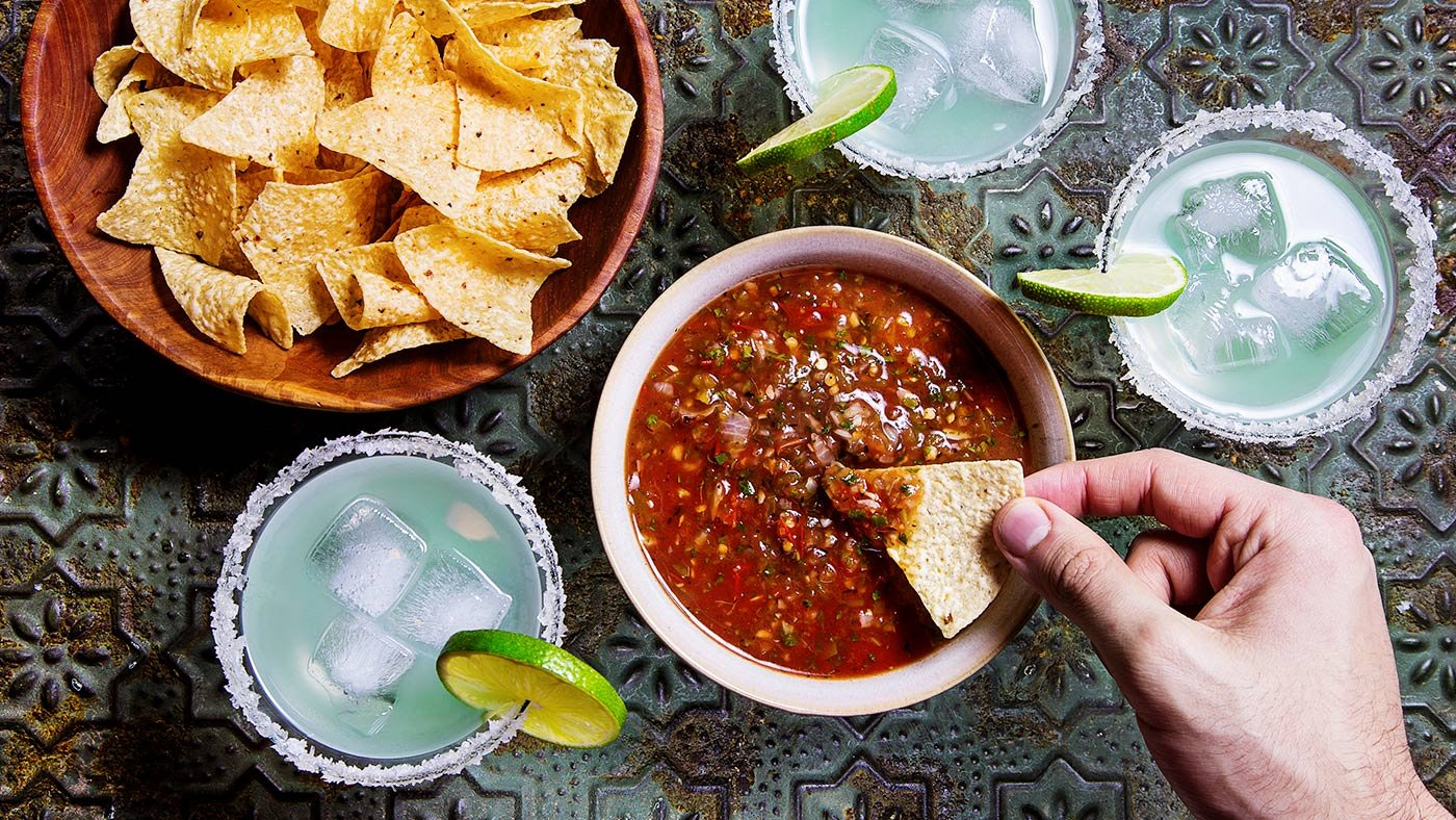 Charred Tomato Salsa Is A Game Changer