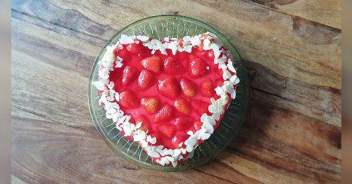 Der beste Erdbeerkuchen: Mit Pudding wird er unfassbar lecker
