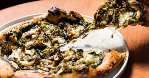 It Doesn't Get Much Better Than This Mushroom Pizza