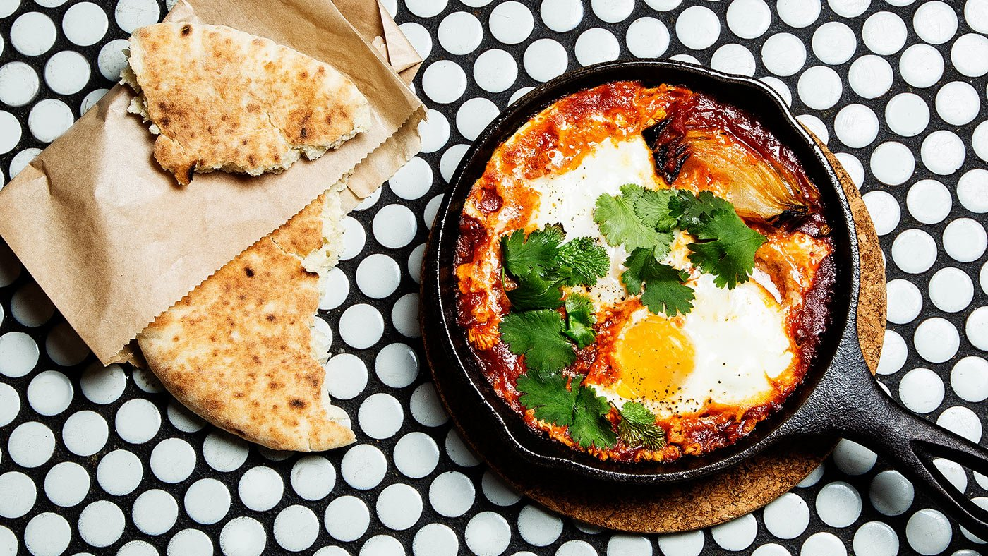 Simple And Satisfying Shakshuka (Poached Eggs In Sauce)