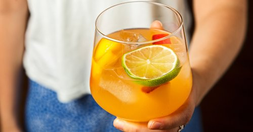 This Spicy Sangria Is A Party Pleaser