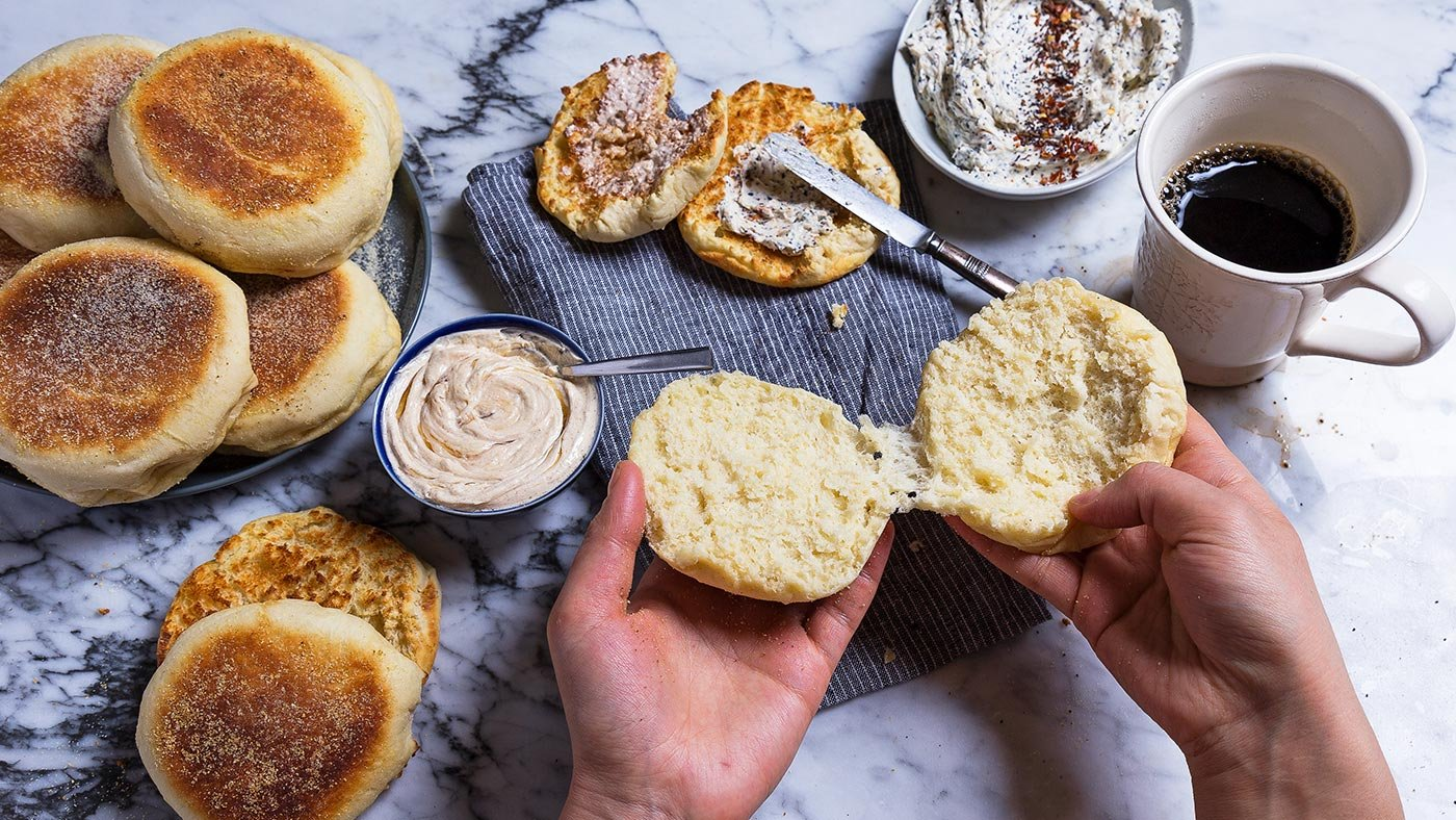 The Right Way To Make Fluffy English Muffins At Home