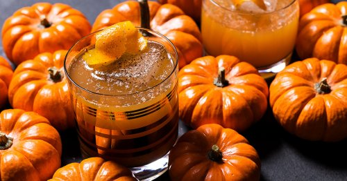 This Pumpkin Rum Cocktail Is a Holiday Lifesaver