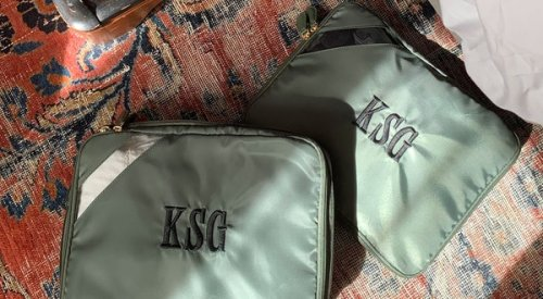 Keep things organized with packing cubes
