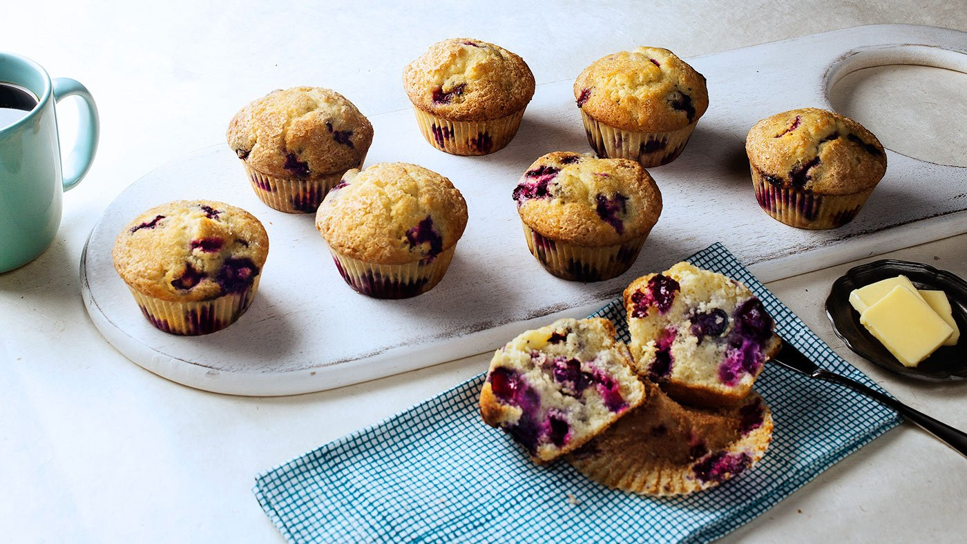 Blueberry Muffins Are The Classic Breakfast Snack