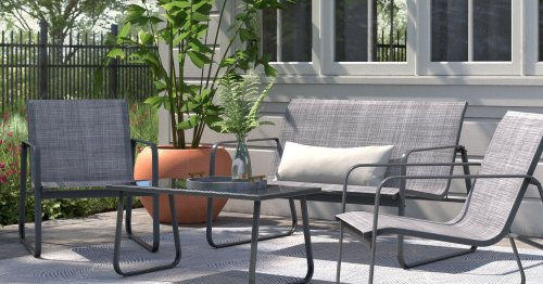 19 Pieces of Small Balcony Furniture That Will Fit in Your Compact Outdoor Space