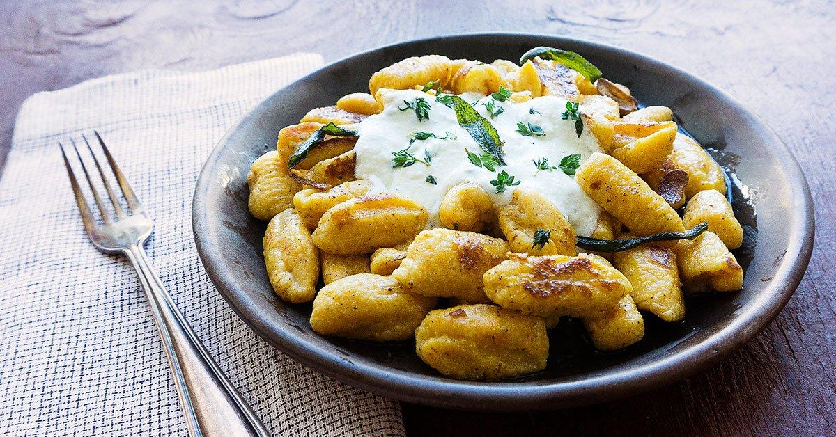 This Pillowy Sweet Potato Gnocchi Tastes Like Heaven