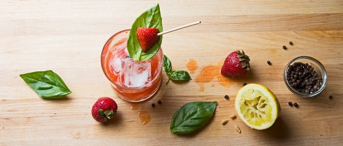 A Strawberry Cocktail Is As Sweet As It Gets