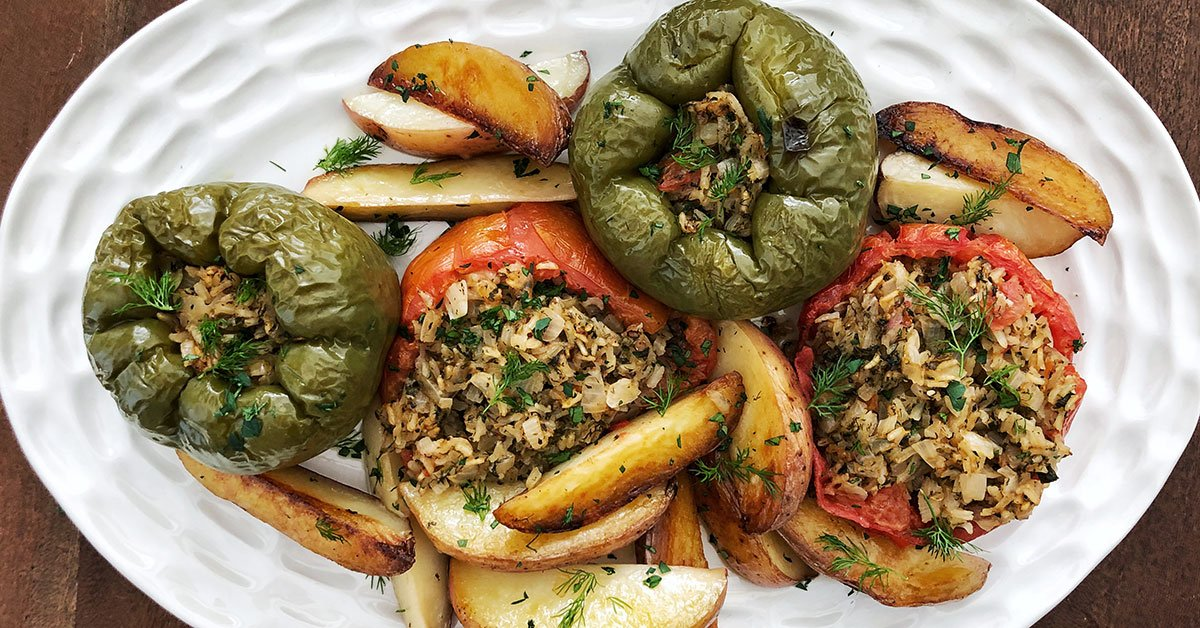 Stuffed Peppers Will Be Your New Summer Go-To