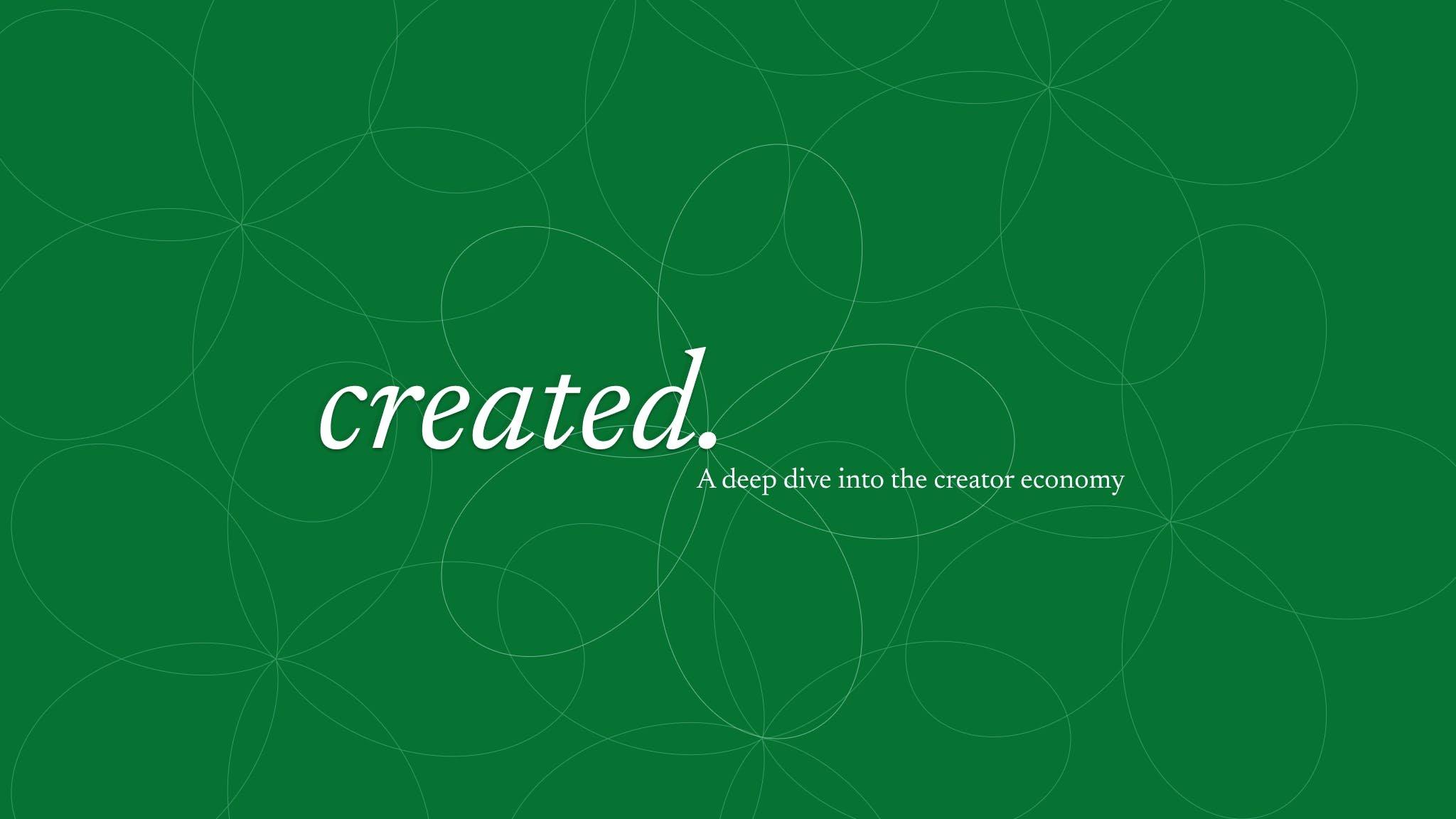 Created Economy   Zealous