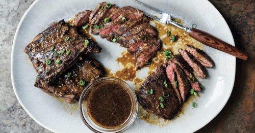 Miso-Marinated Skirt Steak Is A Surprisingly Simple Dinner