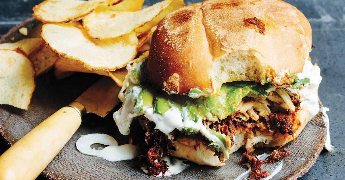 Try Pulled Pork Torta To Upgrade Your Classic Taco Night