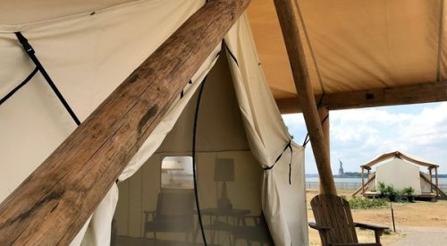 Inside the Island Glamping Retreat Just Minutes From Downtown Manhattan