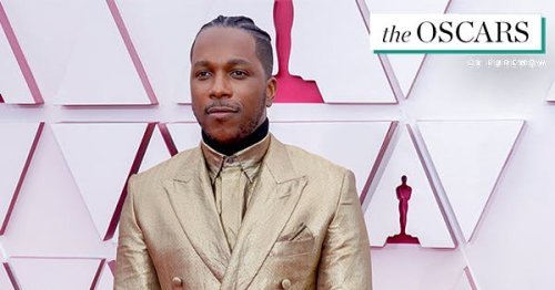 5 Celebs Who Rocked Gold on the 2021 Oscars Red Carpet