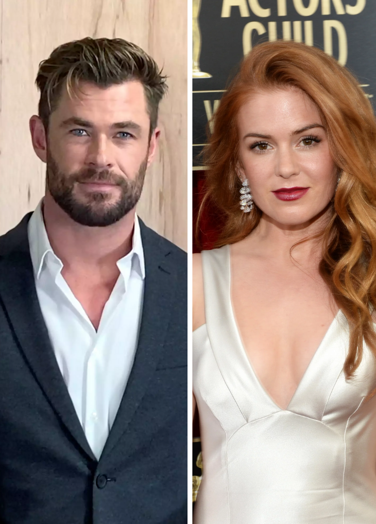 An Inside Look At Chris Hemsworth And Isla Fisher's Relationship - cover