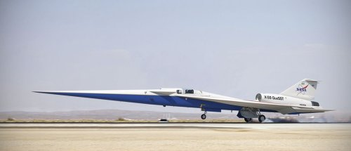 In pictures: X-59 QueSST, the supersonic aircraft that doesn't go boom