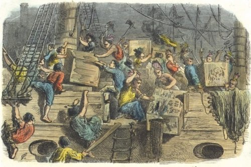What was the Boston Tea Party and why did it happen?