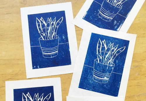 Guide to lino cutting for beginners: tools, tips and techniques to get started
