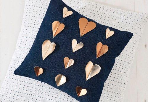 How to make a heart cushion