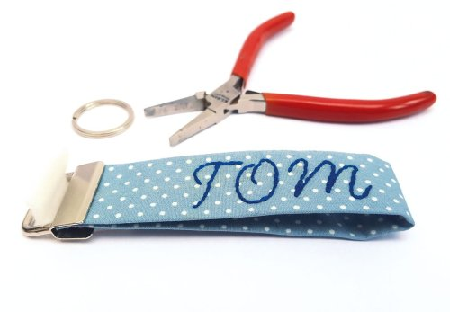 How to sew a key fob