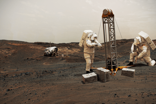 Could humans be too heavy to land on Mars?