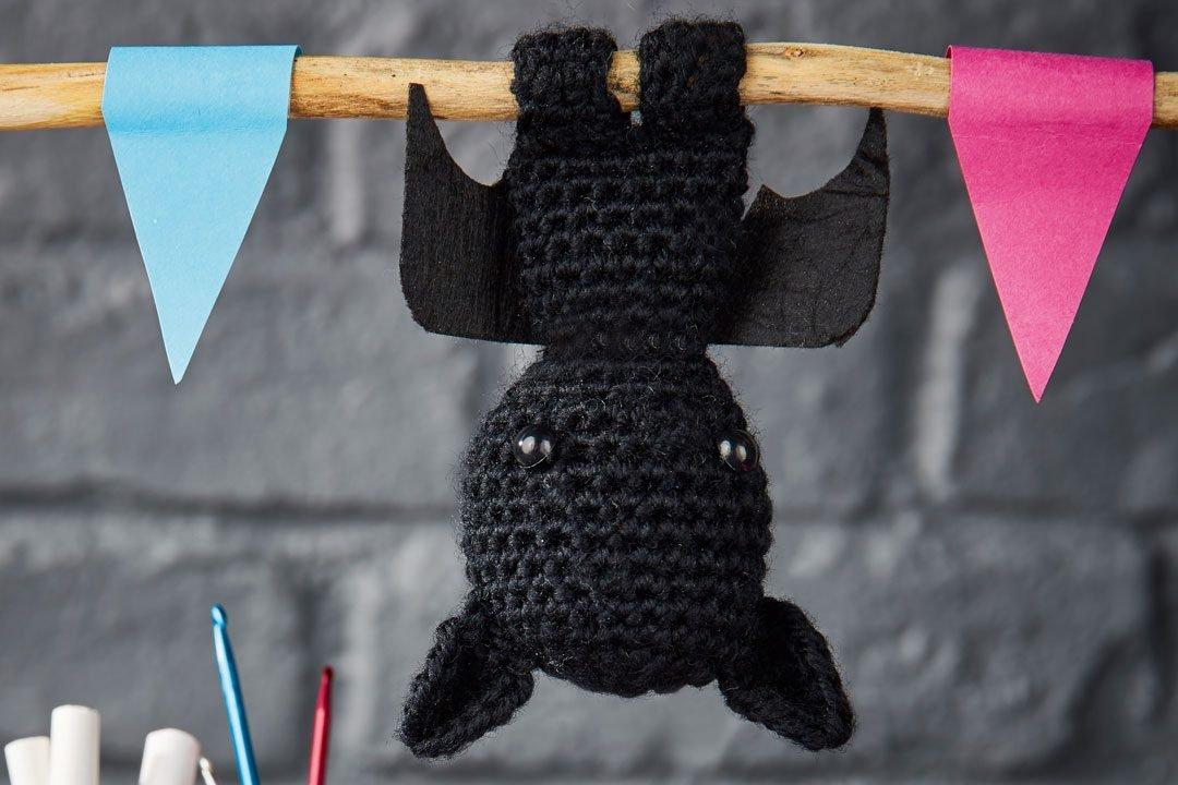 1. Free crochet bat pattern