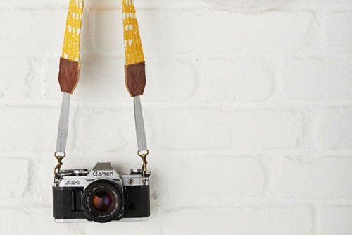 How to sew a camera strap