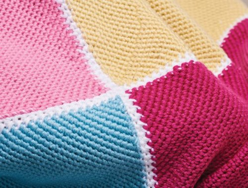 Tassel summer blanket
