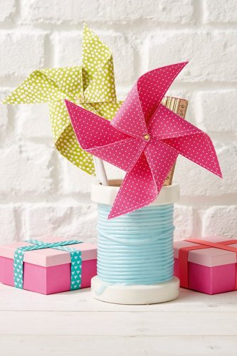 How to sew your own pinwheels
