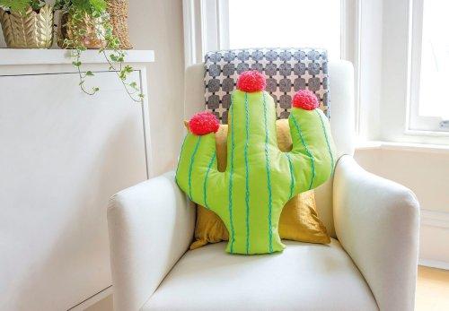 How to make a cactus cushion