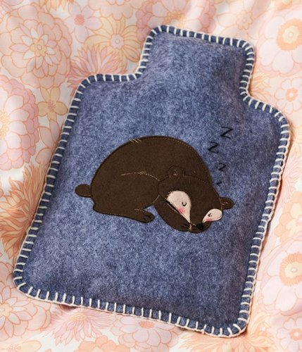 How to make a hot water bottle cover