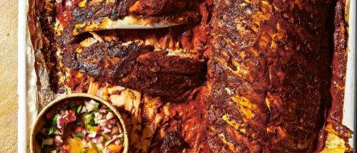 Pibil-style pork ribs