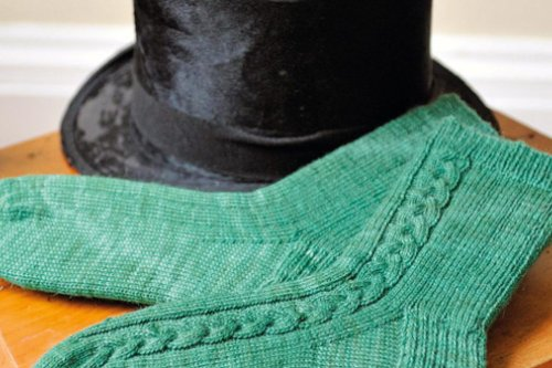 Free men's socks knitting pattern