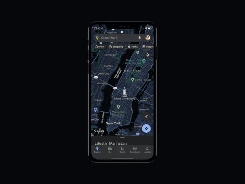 Dark Mode is finally coming to Google Maps on iOS