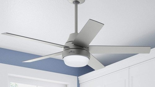 Hunter's slick new Aerodyne ceiling fan works with HomeKit and Siri