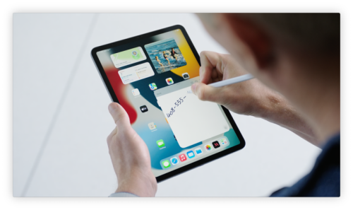 Quick Note is a very useful iPadOS 15 feature if you have a stylus on-hand